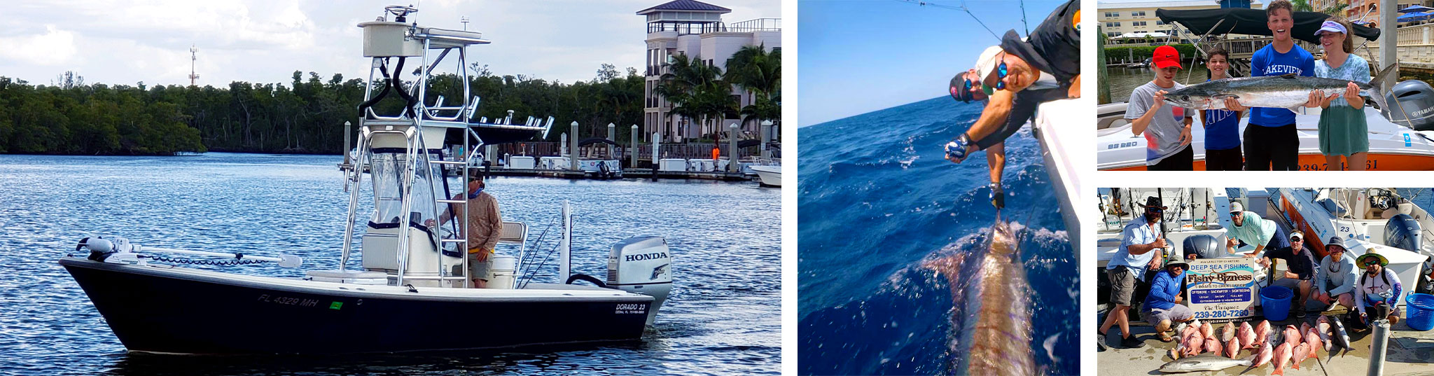Our Fishing Charter | FishyBizness Fishing Charters & Boat Tours in Naples, Florida