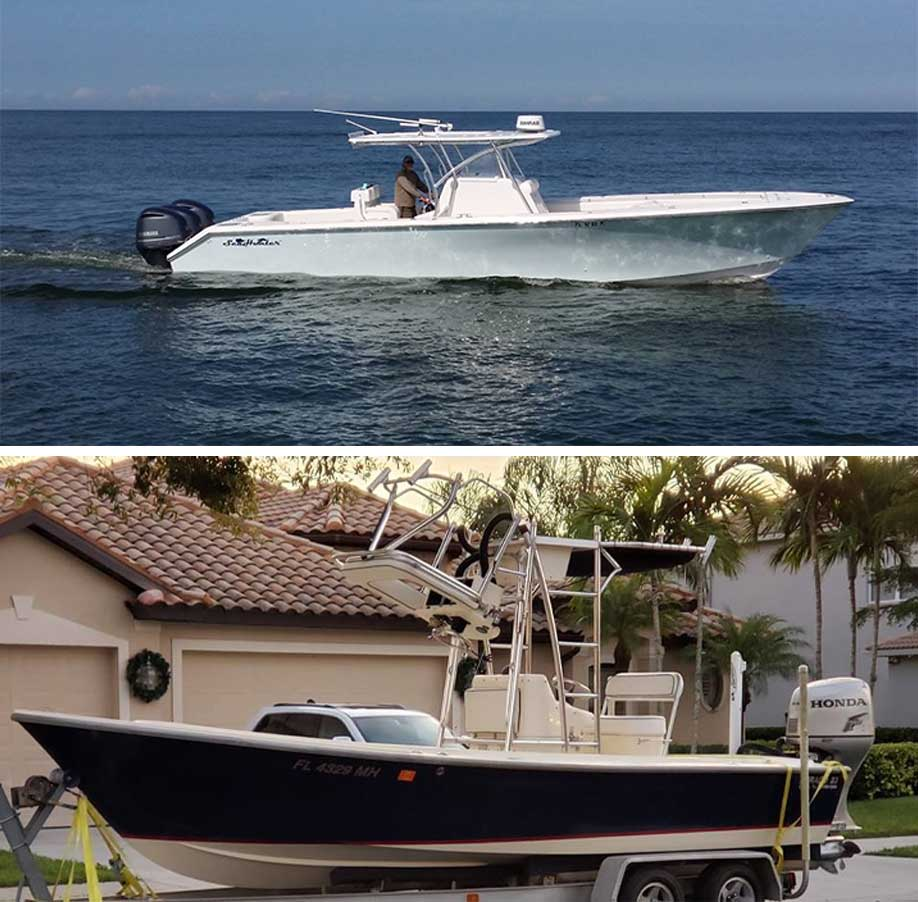 Our Charter Boats | FishyBizness Fishing Charters & Boat Tours in Naples, Florida
